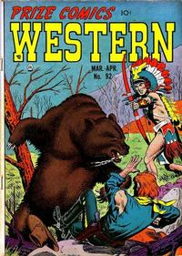 Cover Thumbnail for Prize Comics Western (Prize, 1948 series) #v11#1 (92)