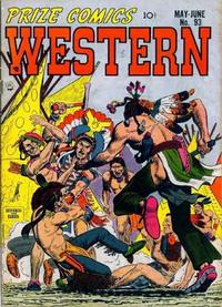 Cover Thumbnail for Prize Comics Western (Prize, 1948 series) #v11#2 (93)