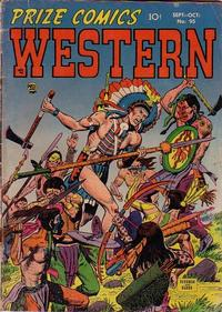 Cover Thumbnail for Prize Comics Western (Prize, 1948 series) #v11#4 (95)