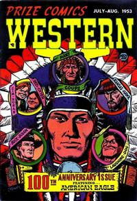 Cover Thumbnail for Prize Comics Western (Prize, 1948 series) #v12#3 (100)