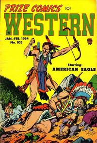 Cover Thumbnail for Prize Comics Western (Prize, 1948 series) #v12#6 (103)