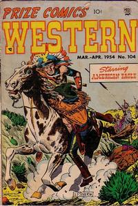 Cover Thumbnail for Prize Comics Western (Prize, 1948 series) #v13#1 (104)