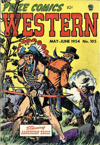 Cover Thumbnail for Prize Comics Western (Prize, 1948 series) #v13#2 (105)