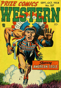 Cover for Prize Comics Western (Prize, 1948 series) #v13#4 (107)