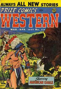 Cover Thumbnail for Prize Comics Western (Prize, 1948 series) #v14#1 (110)