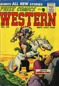 Cover Thumbnail for Prize Comics Western (Prize, 1948 series) #v14#4 (113)