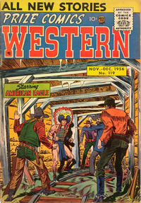 Cover Thumbnail for Prize Comics Western (Prize, 1948 series) #v15#4 (119)