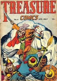 Cover for Treasure Comics (Prize, 1945 series) #6