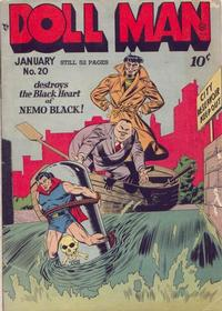 Cover Thumbnail for Doll Man (Quality Comics, 1941 series) #20