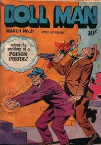 Cover Thumbnail for Doll Man (Quality Comics, 1941 series) #21