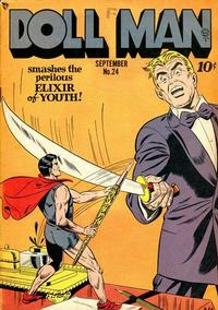 Cover Thumbnail for Doll Man (Quality Comics, 1941 series) #24