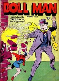 Cover Thumbnail for Doll Man (Quality Comics, 1941 series) #25