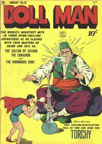 Cover Thumbnail for Doll Man (Quality Comics, 1941 series) #26