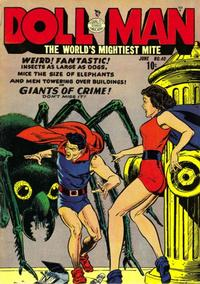 Cover for Doll Man (Quality Comics, 1941 series) #40