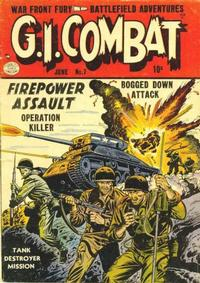 Cover Thumbnail for G.I. Combat (Quality Comics, 1952 series) #7