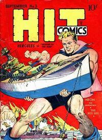 Cover Thumbnail for Hit Comics (Quality Comics, 1940 series) #3
