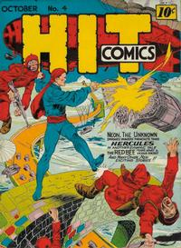 Cover Thumbnail for Hit Comics (Quality Comics, 1940 series) #4