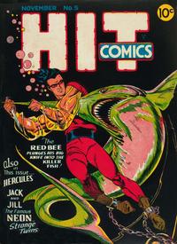 Cover Thumbnail for Hit Comics (Quality Comics, 1940 series) #5