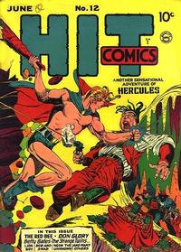 Cover Thumbnail for Hit Comics (Quality Comics, 1940 series) #12