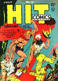 Cover Thumbnail for Hit Comics (Quality Comics, 1940 series) #13