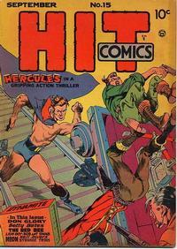 Cover Thumbnail for Hit Comics (Quality Comics, 1940 series) #15
