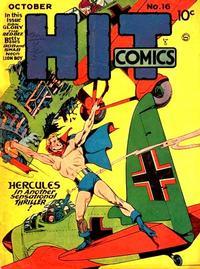 Cover Thumbnail for Hit Comics (Quality Comics, 1940 series) #16