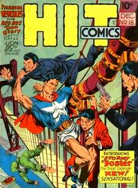 Cover for Hit Comics (Quality Comics, 1940 series) #18