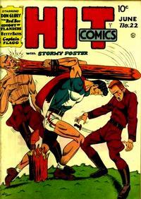 Cover Thumbnail for Hit Comics (Quality Comics, 1940 series) #22
