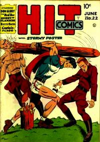 Cover Thumbnail for Hit Comics (Quality Comics, 1940 series) #22
