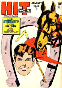Cover Thumbnail for Hit Comics (Quality Comics, 1940 series) #56