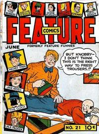 Cover Thumbnail for Feature Comics (Quality Comics, 1939 series) #21