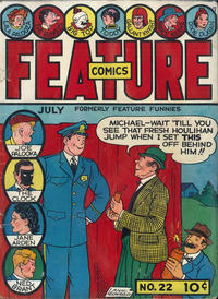 Cover Thumbnail for Feature Comics (Quality Comics, 1939 series) #22