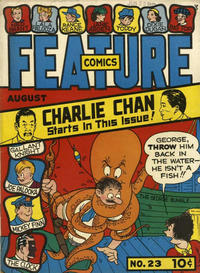 Cover Thumbnail for Feature Comics (Quality Comics, 1939 series) #23