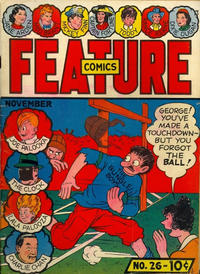 Cover Thumbnail for Feature Comics (Quality Comics, 1939 series) #26