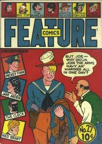 Cover Thumbnail for Feature Comics (Quality Comics, 1939 series) #27