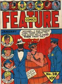 Cover for Feature Comics (Quality Comics, 1939 series) #28