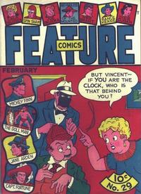 Cover Thumbnail for Feature Comics (Quality Comics, 1939 series) #29
