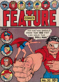 Cover Thumbnail for Feature Comics (Quality Comics, 1939 series) #32