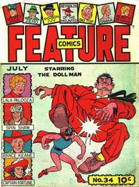 Cover Thumbnail for Feature Comics (Quality Comics, 1939 series) #34