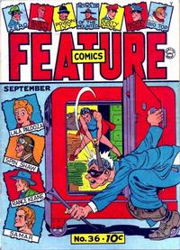 Cover Thumbnail for Feature Comics (Quality Comics, 1939 series) #36