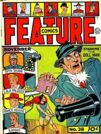 Cover Thumbnail for Feature Comics (Quality Comics, 1939 series) #38