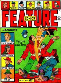 Cover Thumbnail for Feature Comics (Quality Comics, 1939 series) #40