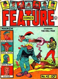 Cover Thumbnail for Feature Comics (Quality Comics, 1939 series) #42