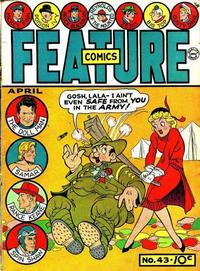 Cover Thumbnail for Feature Comics (Quality Comics, 1939 series) #43