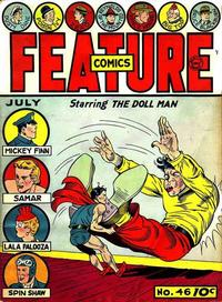 Cover Thumbnail for Feature Comics (Quality Comics, 1939 series) #46