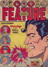 Cover Thumbnail for Feature Comics (Quality Comics, 1939 series) #48