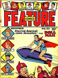 Cover Thumbnail for Feature Comics (Quality Comics, 1939 series) #50
