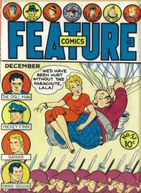 Cover Thumbnail for Feature Comics (Quality Comics, 1939 series) #51