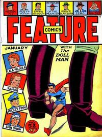 Cover Thumbnail for Feature Comics (Quality Comics, 1939 series) #52