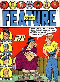 Cover Thumbnail for Feature Comics (Quality Comics, 1939 series) #55
